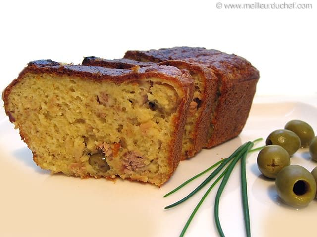 Recette Cake Sal Ef Bf Bd Au Thon Et Aux Olives