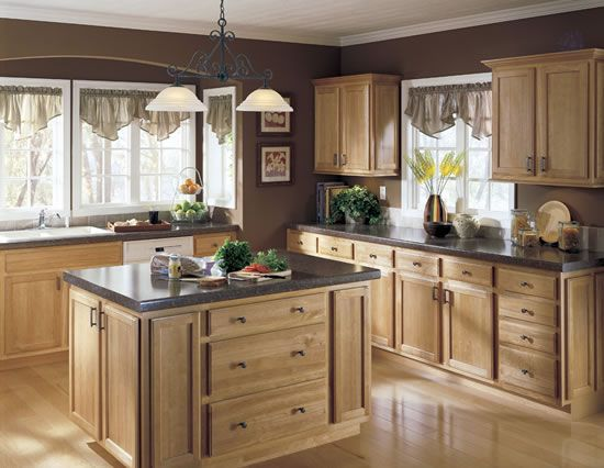 New Rubber Wood Kitchen Cabinets