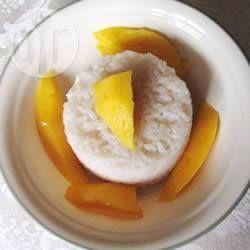 Budino di riso al mango e cocco @ allrecipes.it