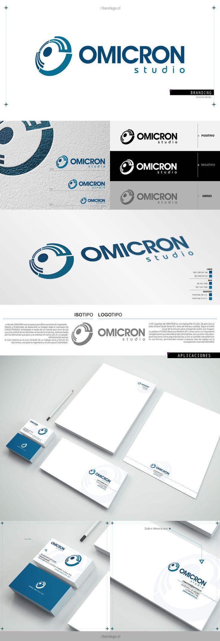 #diseño #crossmedia #branding #bio #logo #laserena #bandago http://bandago.cl/lens_portfolio/omicron/