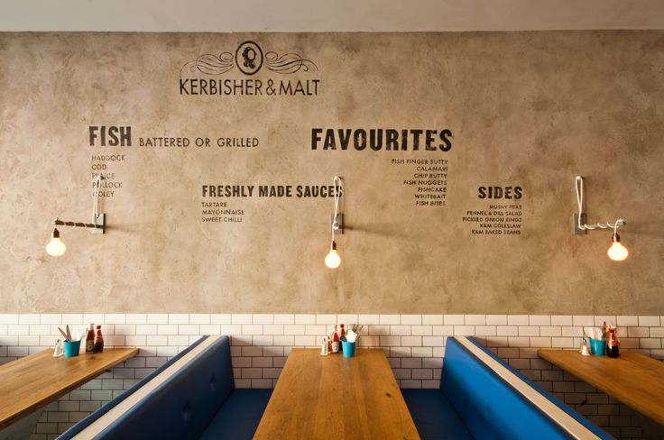 Welcome to Kerbisher & Malt, a modern, British fish and chip shop.