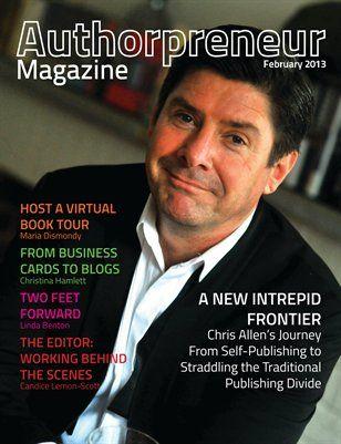 Chris Allen on the cover!!  Authorpreneur Magazine: Authorpreneur Magazine - Issue 1, $6.00 from HP MagCloud