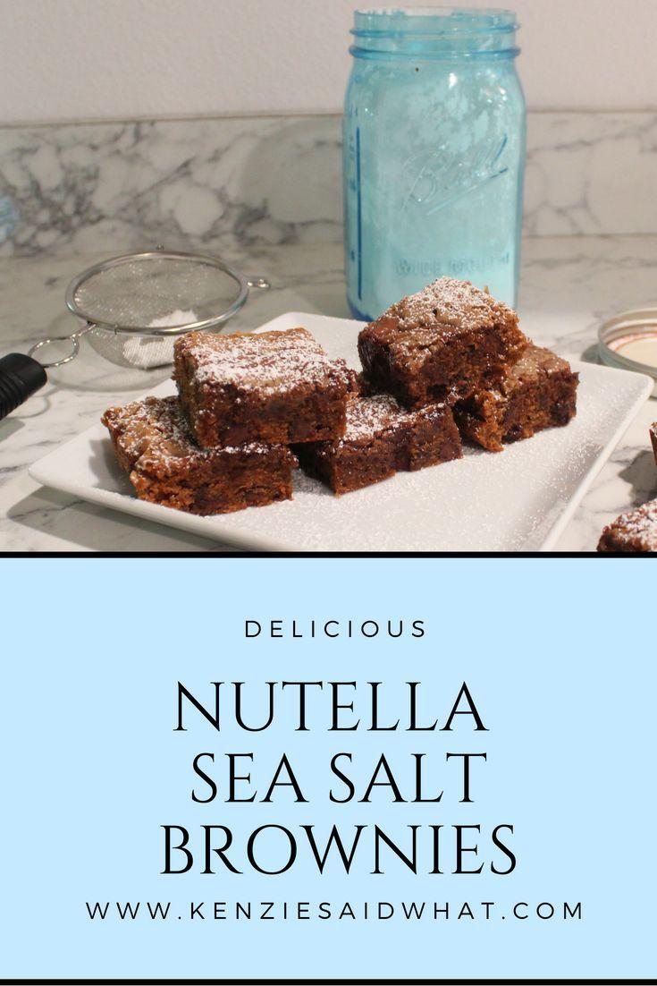 Jul 1 nutella sea salt brownies pinterest desert recipes sea jul 1 nutella sea salt brownies pinterest desert recipes sea salt and super easy malvernweather Gallery