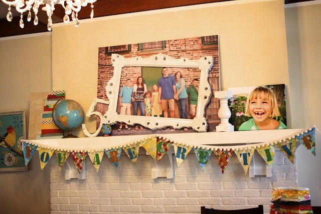 This Is What Is Missing On My Mantle...pictures Of Us. Thanks