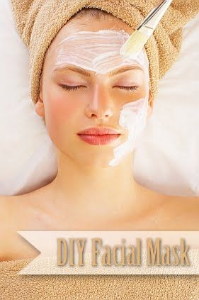 DIY Facial Mask Perfect for a Sunday Afternoon.