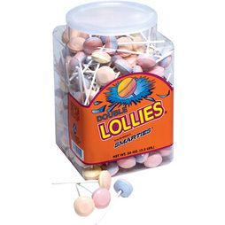 Double Lollies Candy: 200-Piece Tub