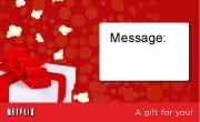 [Netflix] Gift Subscription, 1 Year - $95.88