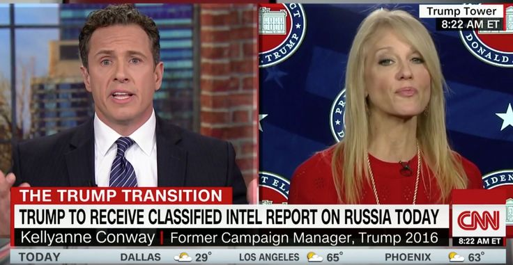 CNN anchor Chris Cuomo confronted one of Donald Trump's top advisers over why the president-elect...