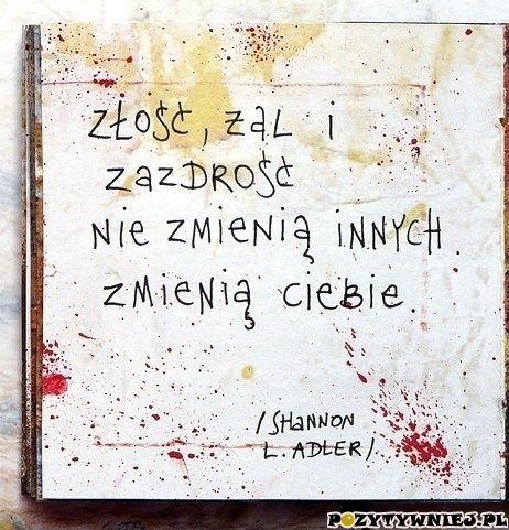 Złość żal... - Pozytywniej.pl