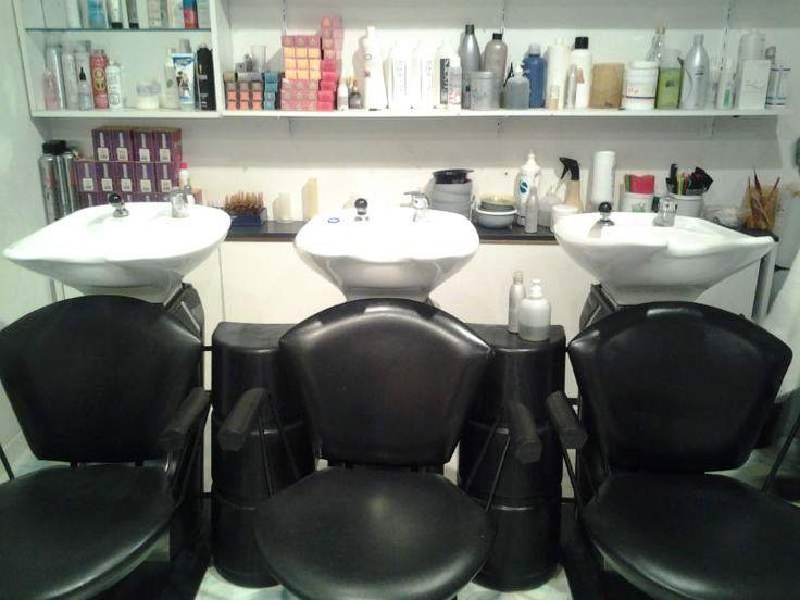 Postazioni lavaggio parrucchiere