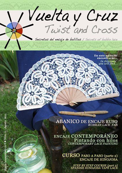 Vuelta y Cruz Nº2: Revista de bolillos / Twist and Cross N.2: Bobbin lace magazine (11€)