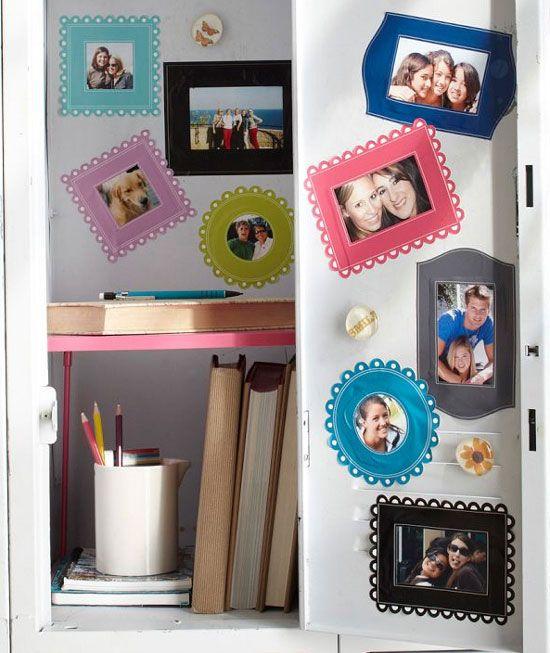School Locker Magnetic Photo Frames Lockers Pinterest