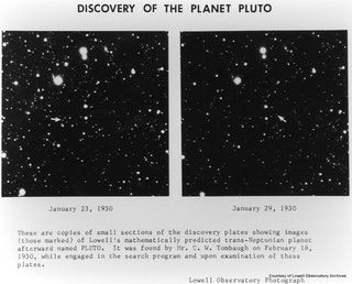Pluto discovery plates... 1930 : Astronomy