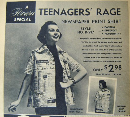 Teenagers follow fashion blindly