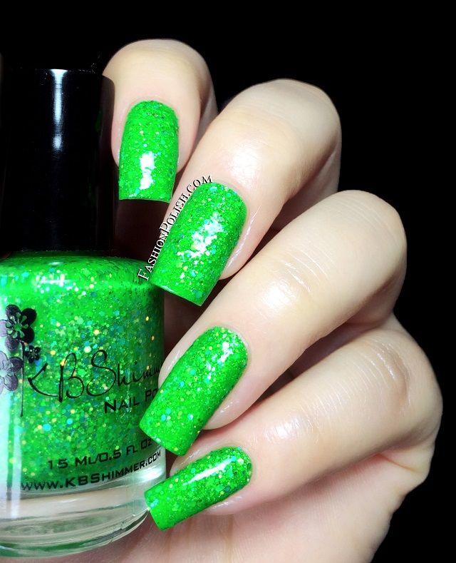 Mejores 86 imágenes de Green Nail Polish Swatches en Pinterest ...