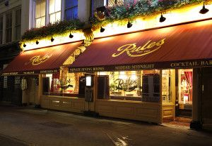Rules | oldest restaurant in London | Game