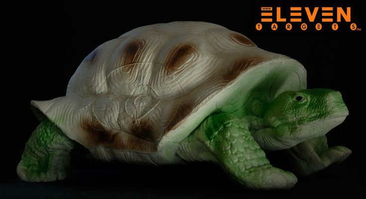 #Eleven 3D Turtle. #IFAA category: 3. #Eleven 3D Teknős. #IFAA kategória: 3.  #archery #target  http://eleventargets.hu/index.php?action=showpic&fid=585