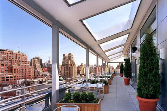 Best rooftop brunches