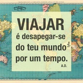 Viajar é dar vida ao seu mundo! ✈ ✈ #nomadesdigitais #viajar