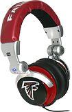 Atlanta Falcons DJ Headphones from Best Buy