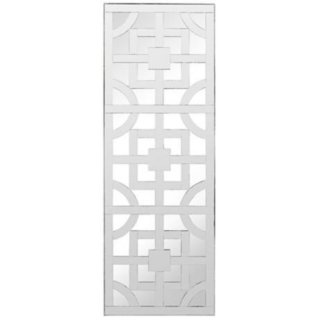 "Cooper Classics Sabine 45"" High Frameless Wall Mirror - #Y3041   LampsPlus.com"