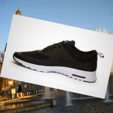 Ladies-Nike Air Max Thea nero/bianco HOT SALE! HOT PRICE!