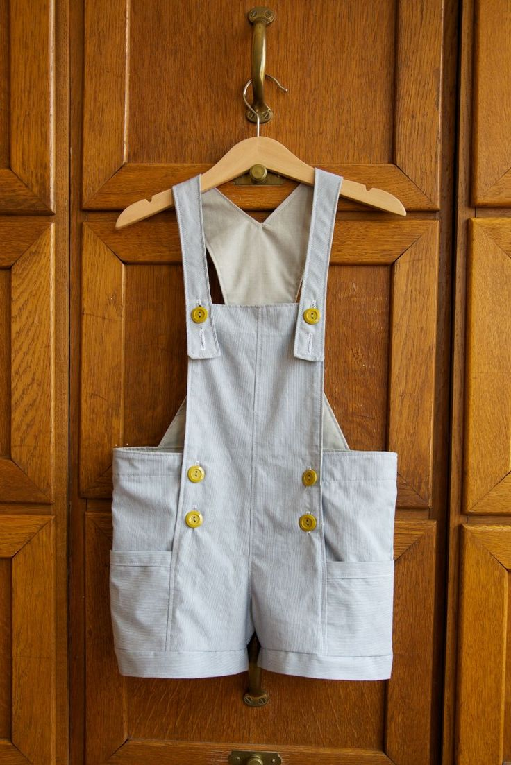 Great British Sewing bEe :: Series 2, week 4  Dungarees made as an extension to the Elegance and Elephants shorts pattern