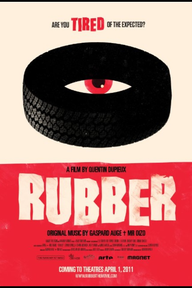 Rubber Movie Poster.
