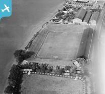 Fulham Football Ground (Craven Cottage), Fulham, 1928