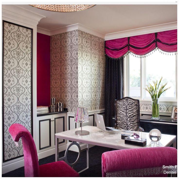 Homeoffice Den Design Ideas: 41 Best Diva Den Ideas Images On Pinterest