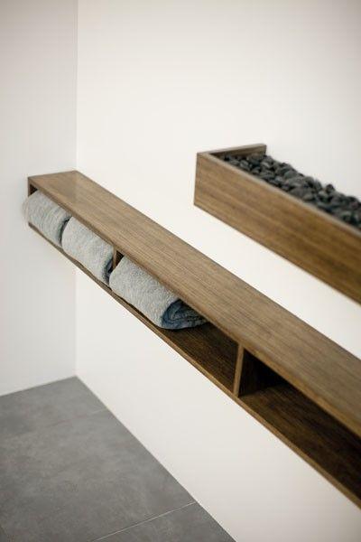 best 25 bathroom towel storage ideas on pinterest. Black Bedroom Furniture Sets. Home Design Ideas