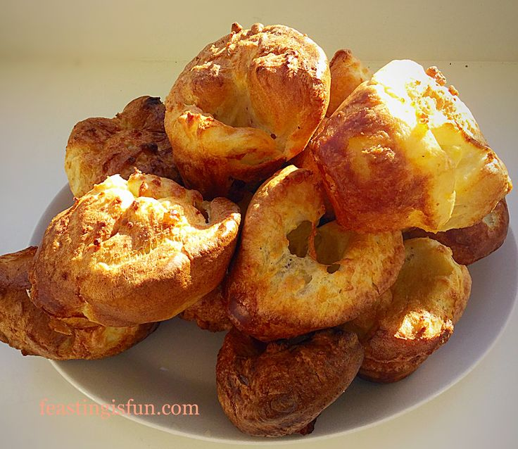 Homemade Yorkshire Puddings a fail safe recipe that produces well risen golden crunchy Yorkshire Puddings every single time. Perfect with roasts.