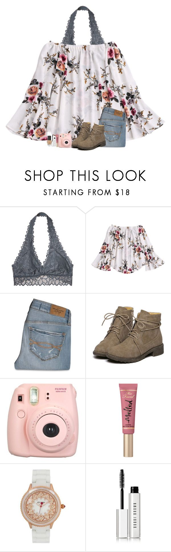 """HACKED! @amaya_leigh"" by alexislynea-804 on Polyvore featuring Victoria's Secret, Abercrombie & Fitch, Fujifilm, Too Faced Cosmetics, Betsey Johnson, Bobbi Brown Cosmetics and NARS Cosmetics"