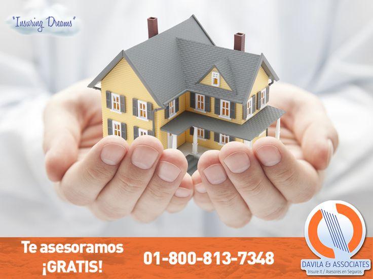 Te has esforzado por tener un patrimonio y hacer de tu hogar el lugar ideal. #segurocasa #seguros #casa #habitacion #segurosdavila #mexico