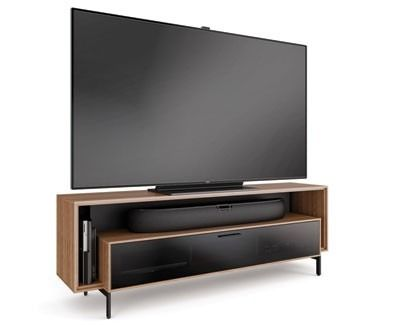 BDI Cavo 8167 Wide TV Cabinet With Open Soundbar Platform up to TV offers a  retro design with a touch of modern elegance to give your home theater a  neat  249 best AV Racks  AV Furniture   Home Theater Seating images on  . Home Theater Cabinet Design. Home Design Ideas