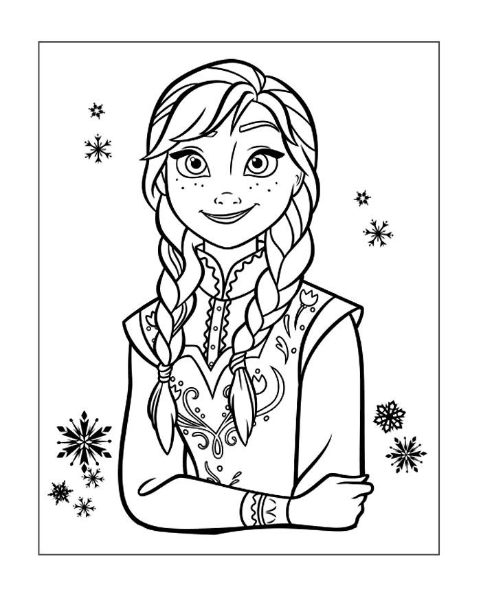 Frozen Coloring Image Anna Elsa Coloring Pages Frozen Coloring Pages Frozen Coloring
