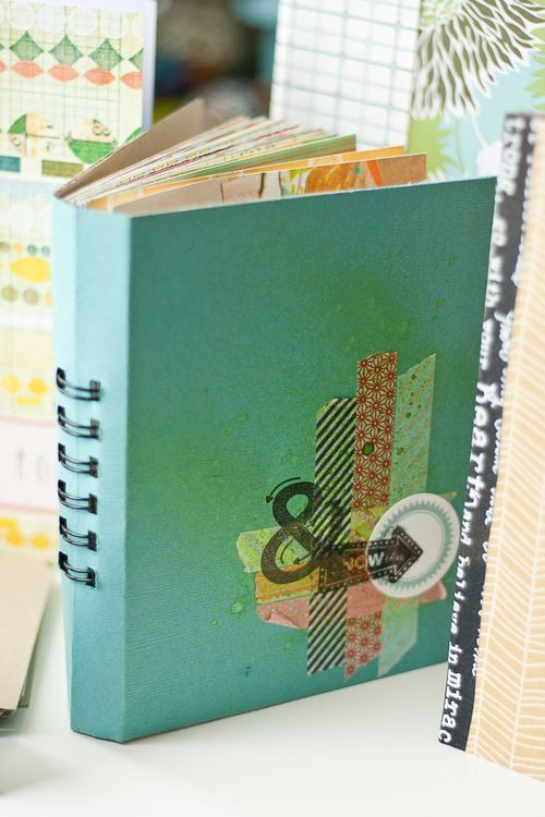 tutorial for using the Zutter Bind It All to make a journal/album...good pictures, very detailed: Smash Book, Mini Albums, Minialbum, Handmade Books, Minibook, Handmade Journals