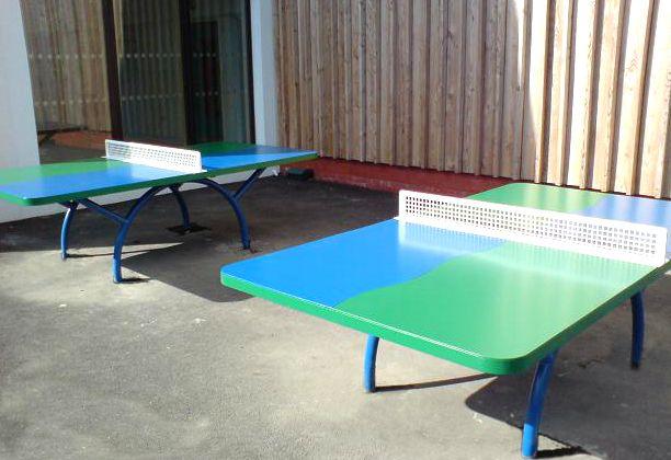 Fun Outdoor Table Tennis, Outdoor Table Tennis, AMV Playgrounds.