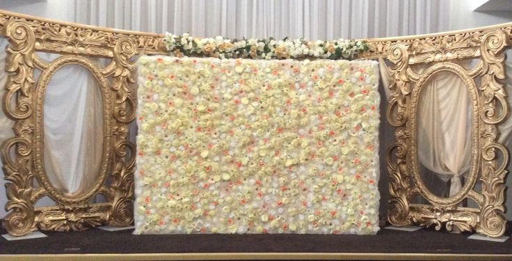 Wall of flowers  by cathey's flowers