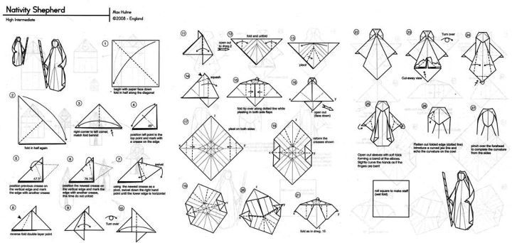 ... on Pinterest   Christmas origami, Origami and Origami patterns