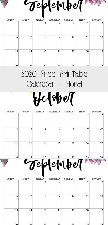 Most current Pics 2020 calendar floral Concepts It is a