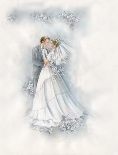 Свадебные картинки жених и невеста винтаж, картинках добрый вечерок