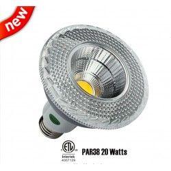 Dimmable COB PAR38 E27 20W LED Light Bulbs E27 Spotlight Very Bright Lamps