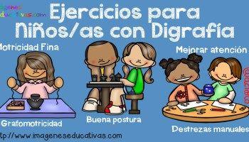 Ejercicios para Niños y niñas con Disgrafía
