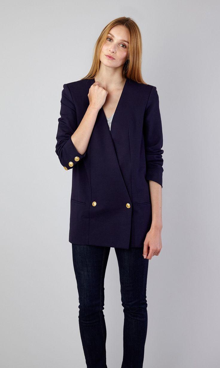 Veste blazer femme par Pierre-Henry Bor, vainqueur de Projet Fashion.