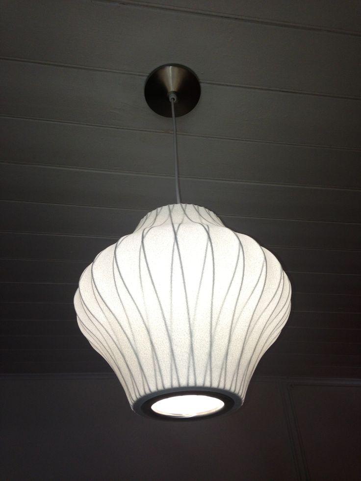 George Nelson Pear Bubble Lamp CrissCrossSeries