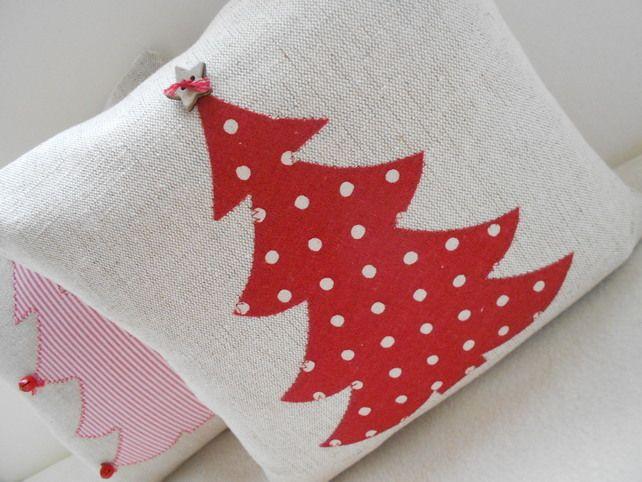 Christmas Tree Applique Cushion  £14.50