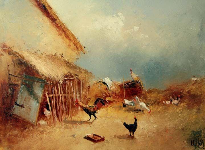 Igor Medvedev  D93e052d0b37e7bc36919724c261a70e--oil-on-canvas-coq