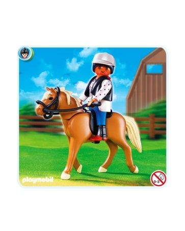 Playmobil Хафлингер со стойлом Playmobil (Плеймобил)