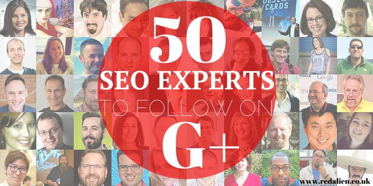 50 seo experts